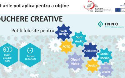 Apel Regional de Vouchere Creative pentru întreprinderi