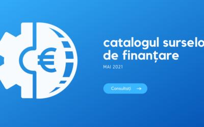Catalogul surselor de finanțare societăți comerciale – mai 2021