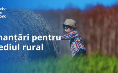 Finanțări pentru mediul rural dedicate activităților nonagricole, instalarea tinerilor fermieri și dezvoltarea fermelor mici
