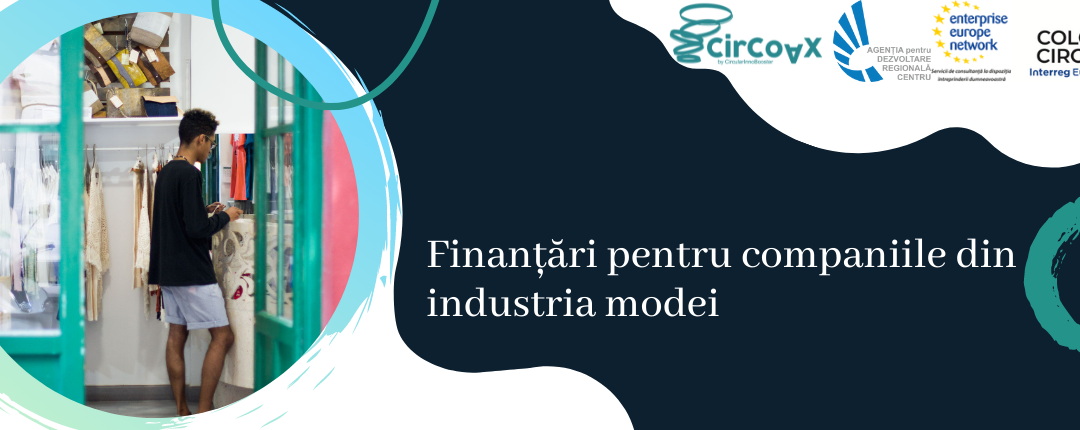 Finanțări pentru companiile din industria modei